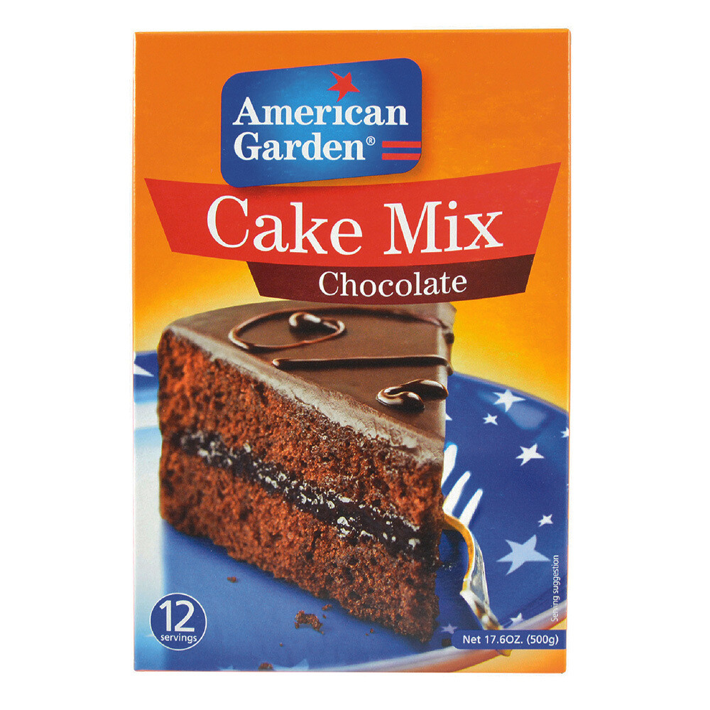 American Garden Cake Mix-Chocolate