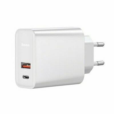 Baseus Speed PPS Quick charger C+U 30W EU White