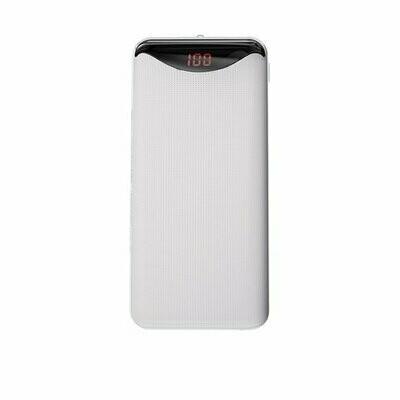 Baseus Gentleman Digital Display 10000mAh Power Bank White