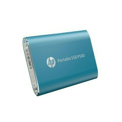 HP PORTABLE SSD 500GB P500 BLUE