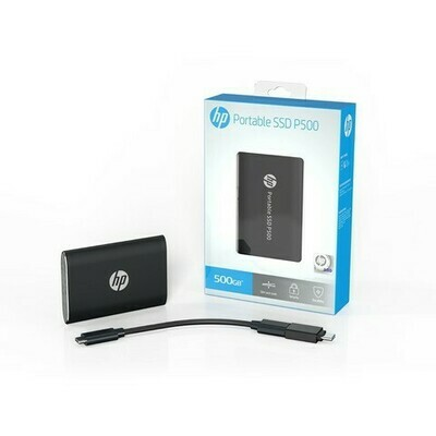 HP PORTABLE SSD 500GB P500 BLACK
