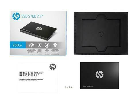 HP S700 250GB 2.5 inch SATAIII SSD