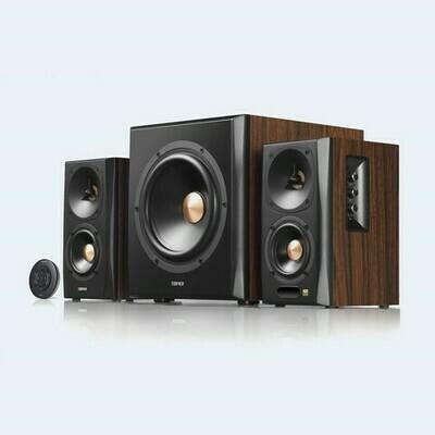 Edifier S360DB Bookshelf Speaker and Subwoofer 2.1 Speaker System Bluetooth v4.1 aptX Wireless Sound