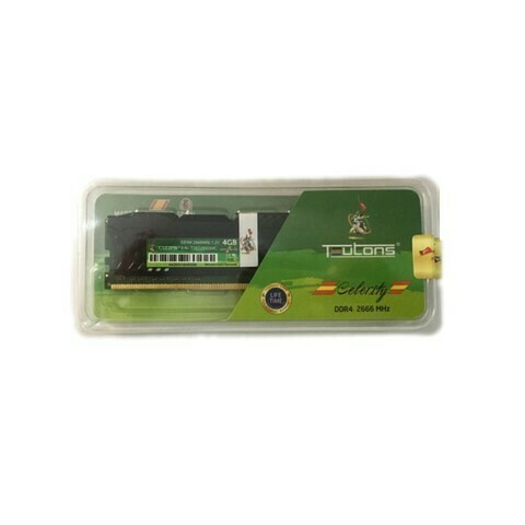 Teutons Celerity 4GB DDR4 2666MHz Desktop RAM With Heatsink