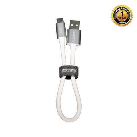 Teutons Zlin Power Bank Cable Type C (data) 15cm- White