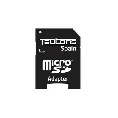 Teutons Micro SD to SD Card Adapter