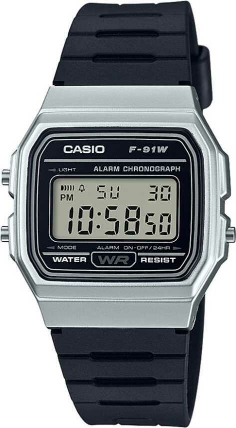 Casio Youth F-91WM-7ADF Digital Wrist Watch For Men and Women - Black