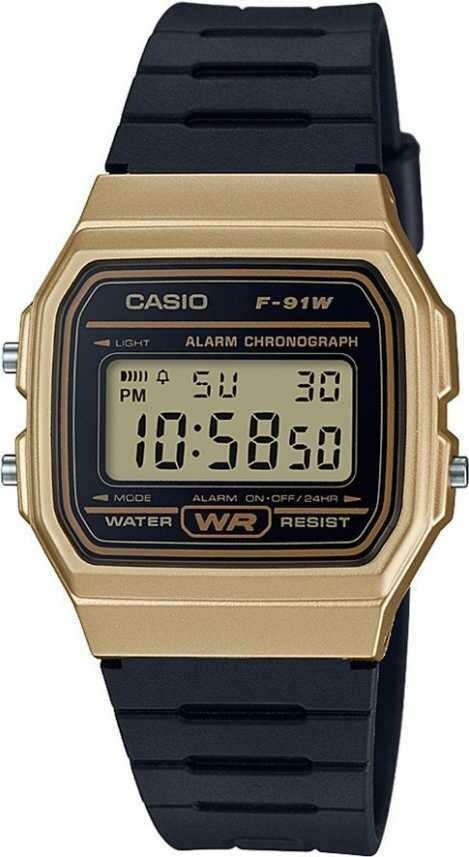 Casio Youth F-91WM-9ADF Digital Wrist Watch For Men and Women - Black