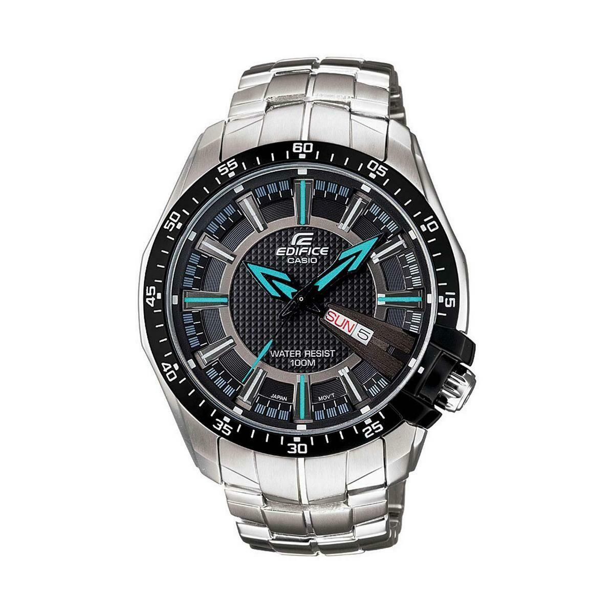 Casio Edifice EF-130D-1A2VDF Analog Wrist Watch For Men - Silver
