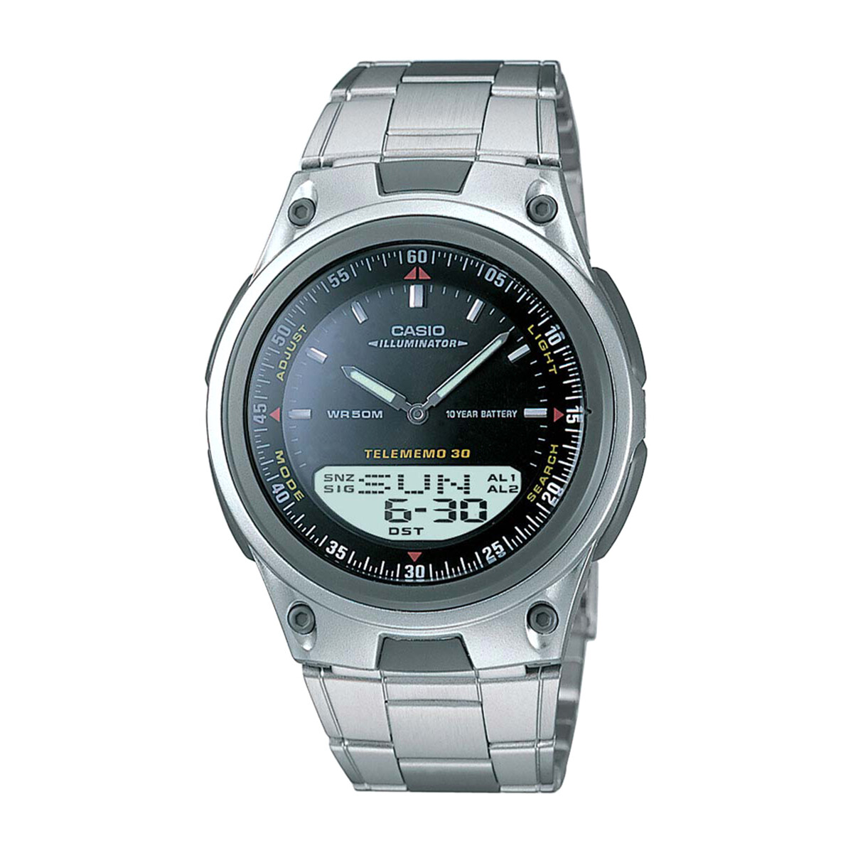 Casio AW-80D-1AVDF Silver Metal Watch For Men