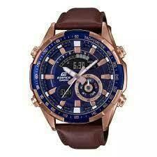 Casio Edifice ERA-600GL-2AVUDF Analog-Digital Wrist Watch For Men - Brown