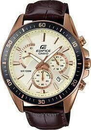 Casio EFR-552GL-7AVUDF Brown Metal Watch For Men