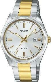 Casio Enticer MTP-1302SG-7AVDF Analog Wrist Watch For Men - Silver and