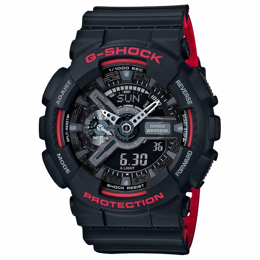 Casio G-Shock GA-110HR-1ADR Analog-Digital Wrist Watch For Men - Black