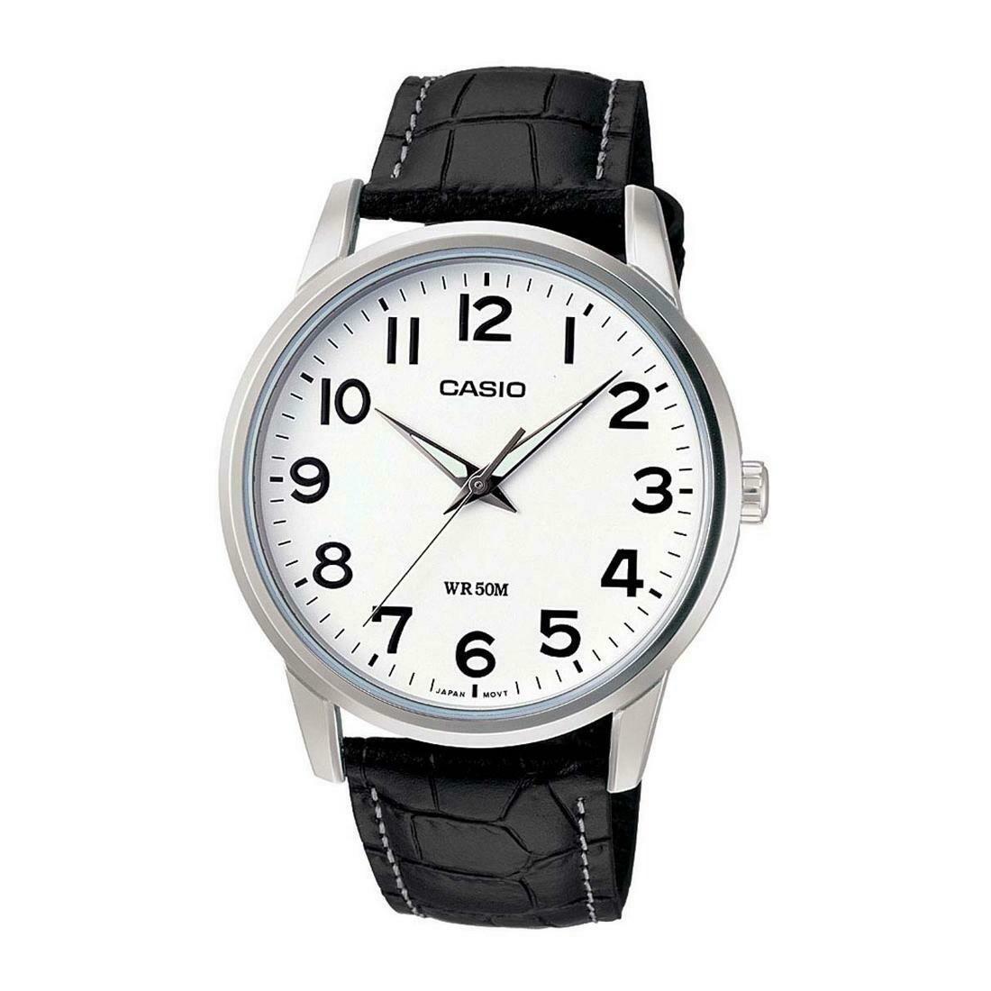 Casio Enticer MTP-1303L-7BVDF Analog Wrist Watch For Men - Black