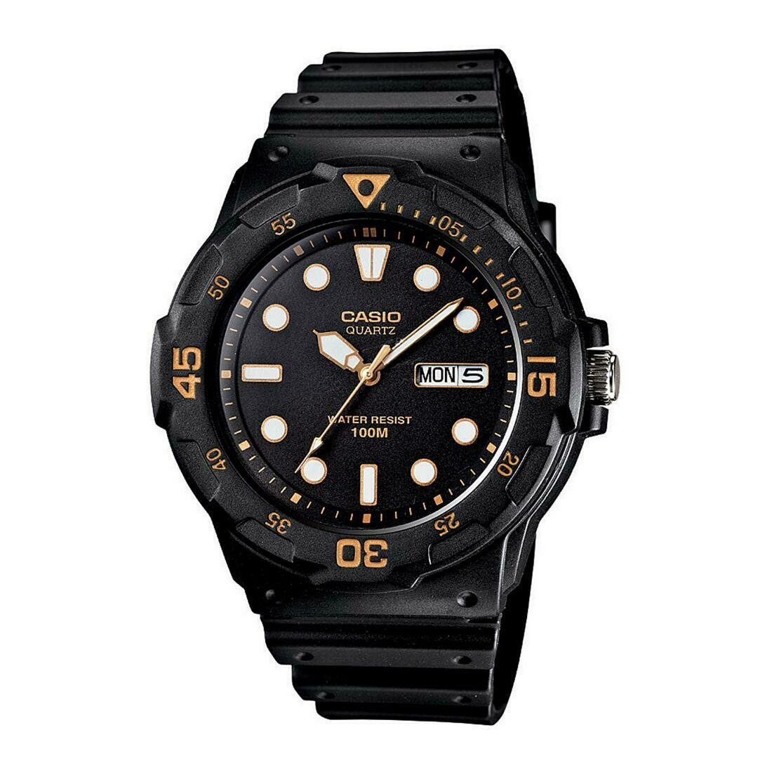 Casio Youth MRW-200H-1EVDF Wrist Watch For Men - Black