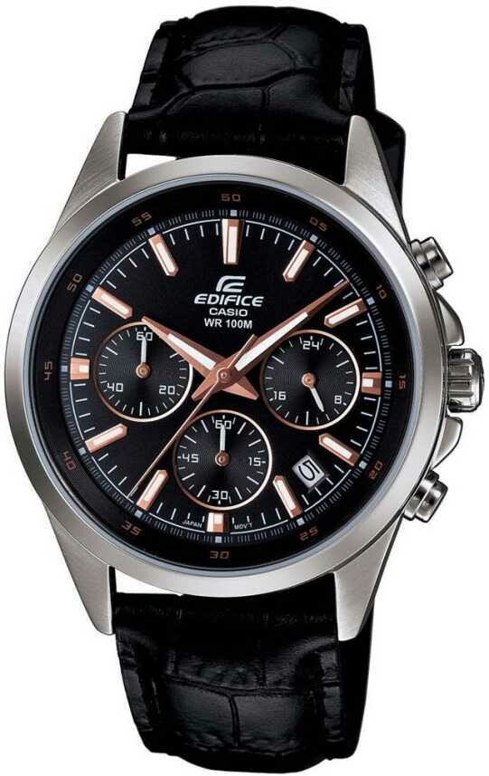 Casio EFR-527L-1AVUDF Black Metal Watch For Men