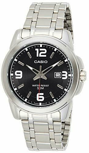 Casio Enticer MTP-1314D-1AVDF Analog Wrist Watch For Men - Silver