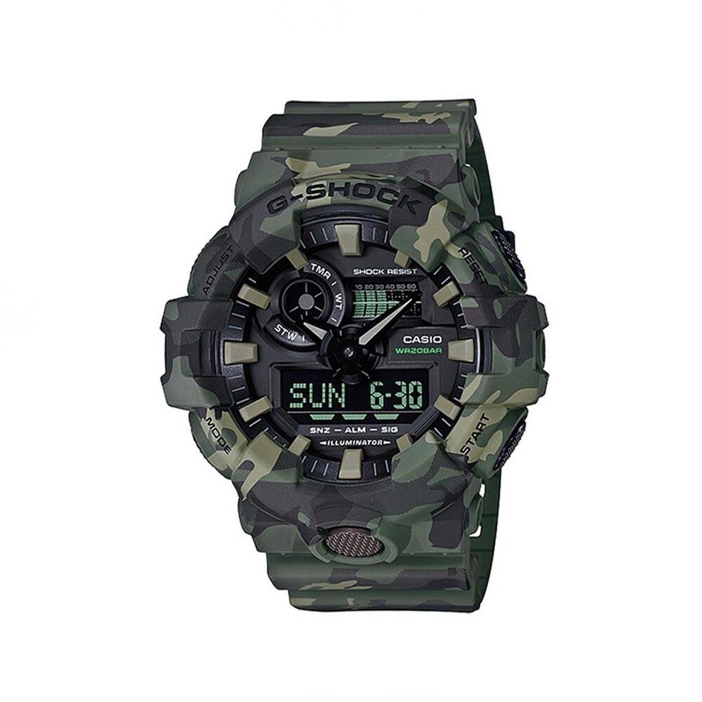Casio G-Shock GA-700CM-3ADR Analog-Digital Wrist Watch For Men - Green