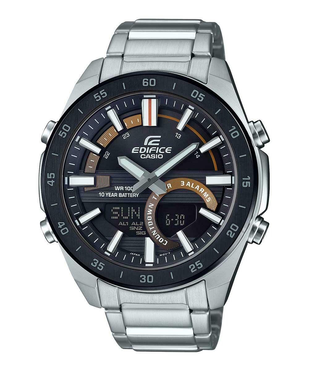 Casio Edifice ERA-120DB-1BVDF Silver Metal Watch For Men