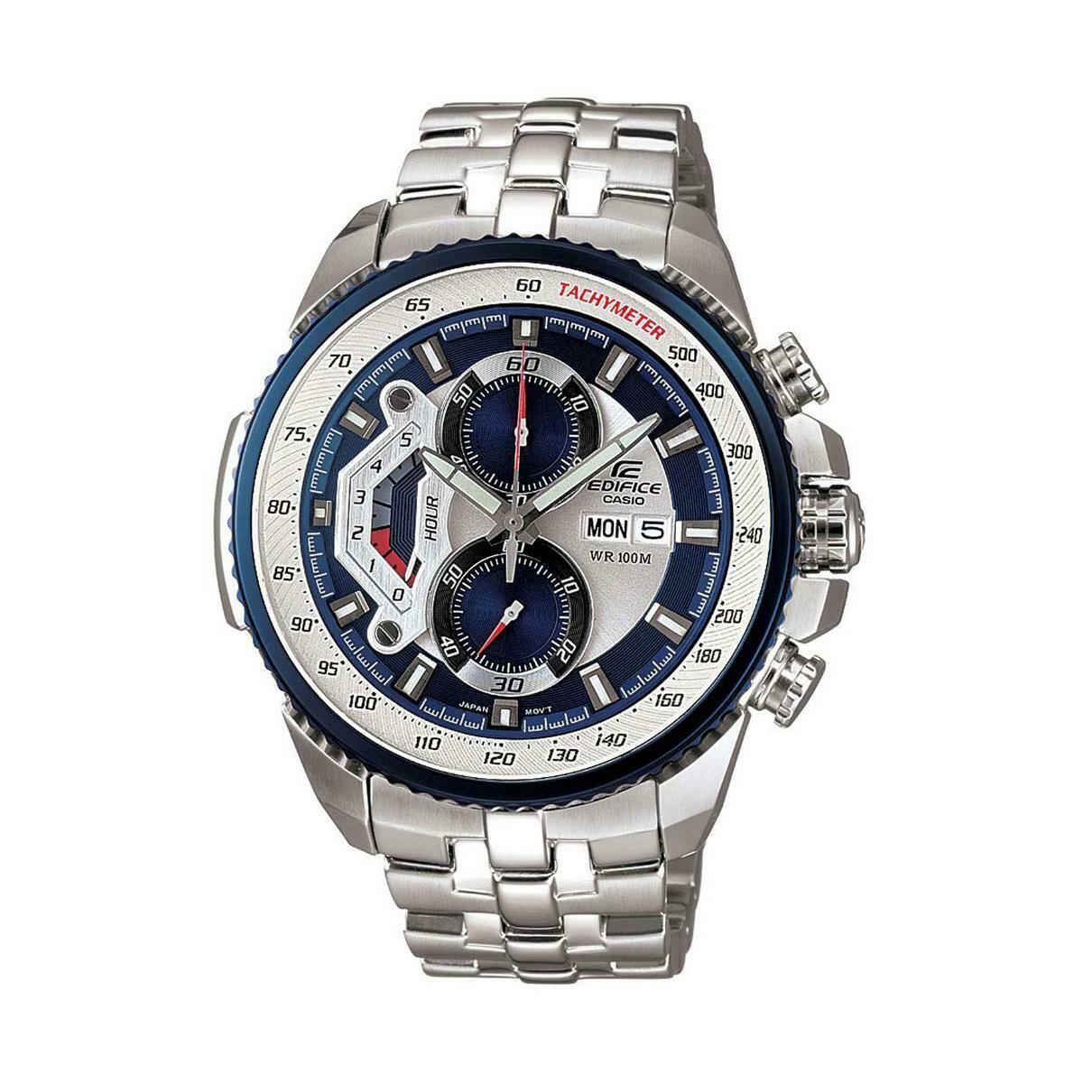 Casio Edifice EF-558D-2AVDF Analog Wrist Watch For Men - Silver