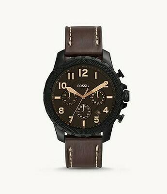 Bowman Chronograph Brown Leather Watch FS5601
