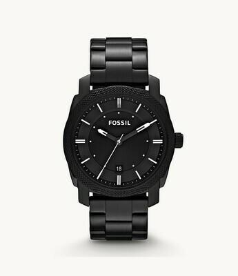 Machine Black Stainless Steel Watch FS4775