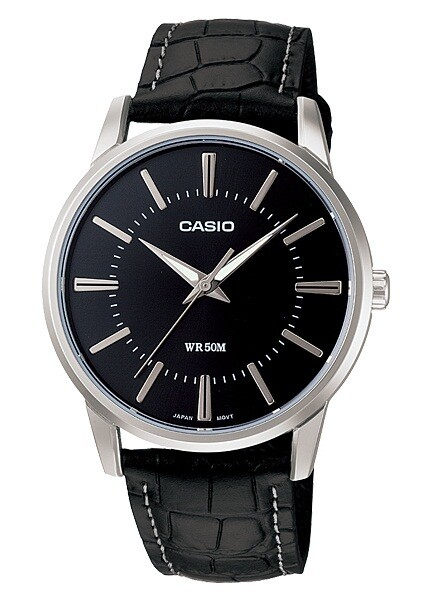 Casio Enticer MTP-1303L-1AVDF Analog Wrist Watch For Men - Black