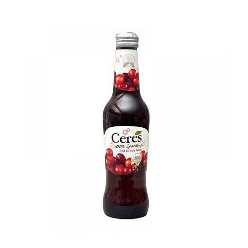 Ceres 100% Sparkling Red Grape Juice - 275ml