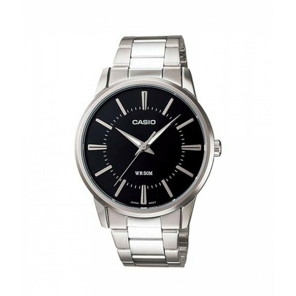 Casio Enticer MTP-1303D-1AVDF Analog Wrist Watch For Men - Silver
