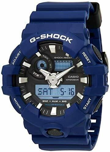 Casio G-Shock GA-700-2ADR Analog-Digital Wrist Watch For Men - Blue