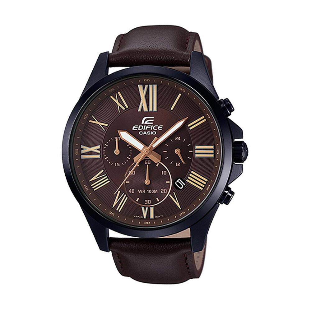 Casio Edifice EFV-500BL-1AVUDF Analog Wrist Watch For Men - Brown