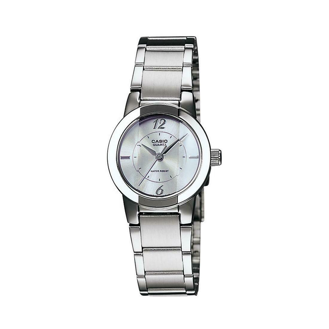 Casio Enticer LTP-1230D-7CDF Analog Wrist Watch For Women - Silver