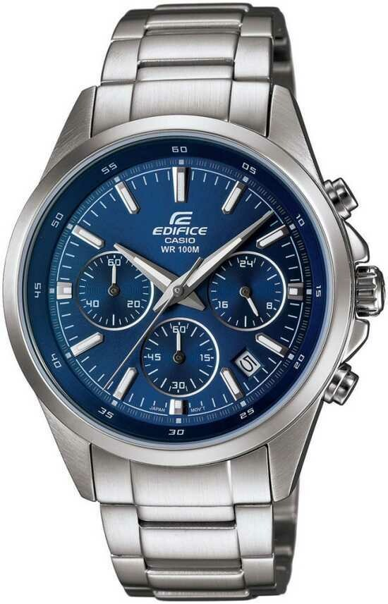 Casio Edifice EFR-527D-2AVUDF Analog Wrist Watch For Men - Silver