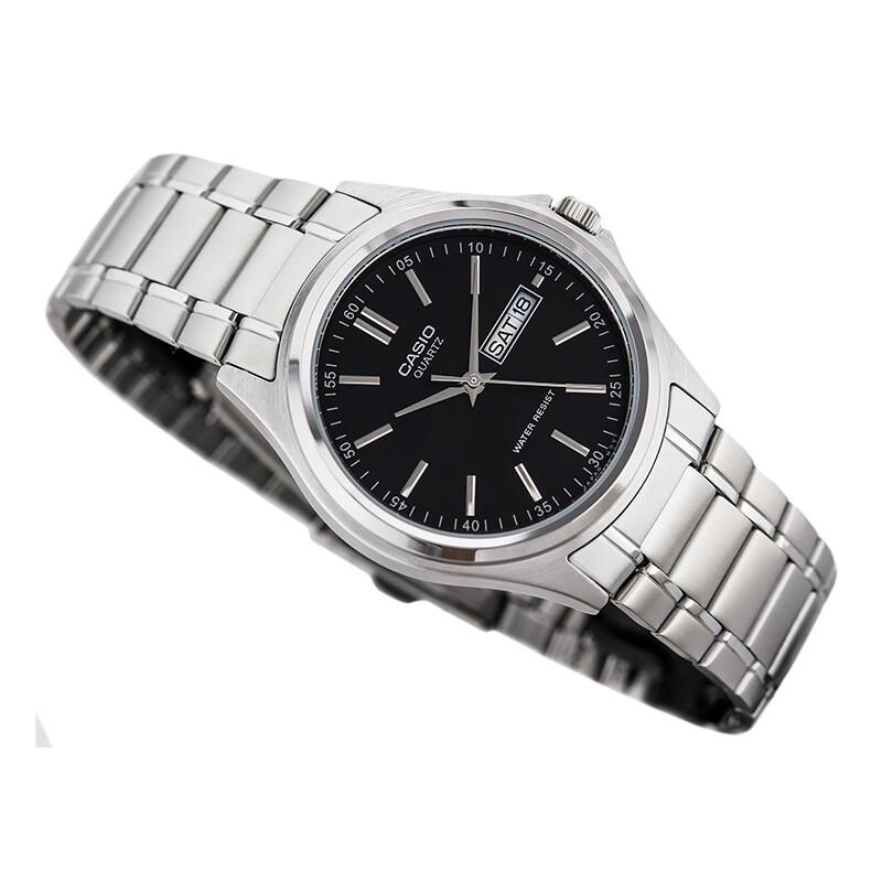 Casio Enticer MTP-1239D-1ADF Analog Wrist Watch For Men - Silver