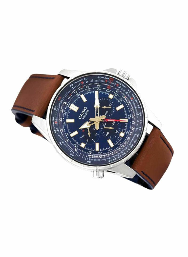 Casio MTP-SW320L-2AVDF Analog Wrist Watch for Men - Blue
