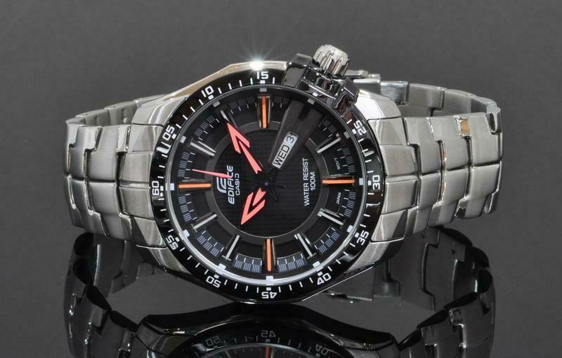 Casio Edifice EF-130D-1A5VDF Analog Wrist Watch For Men - Silver