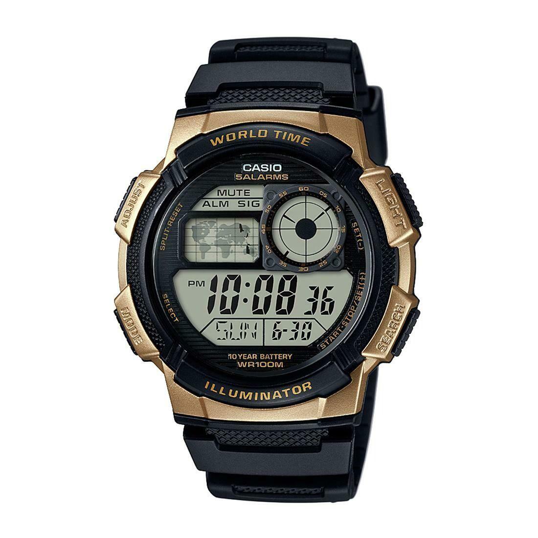 Casio Youth AE-1400WH-9AVDF Digital Wrist Watch For Men - Black