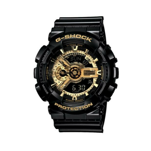 Casio G-Shock GA-110GB-1ADR Analog-Digital Watch for Men -Black
