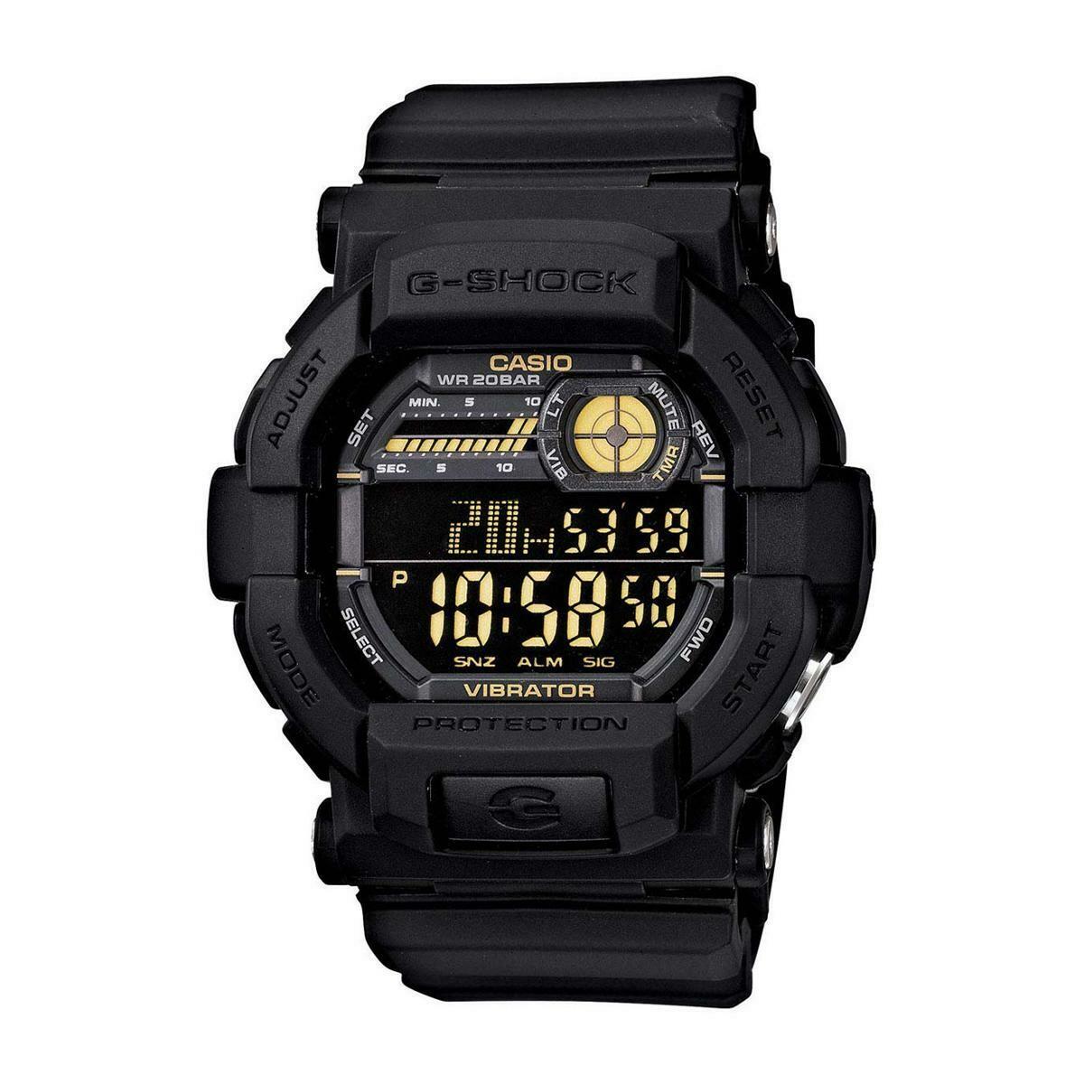 Casio G-Shock GD-350-1BDR Digital Watch for Men -Black