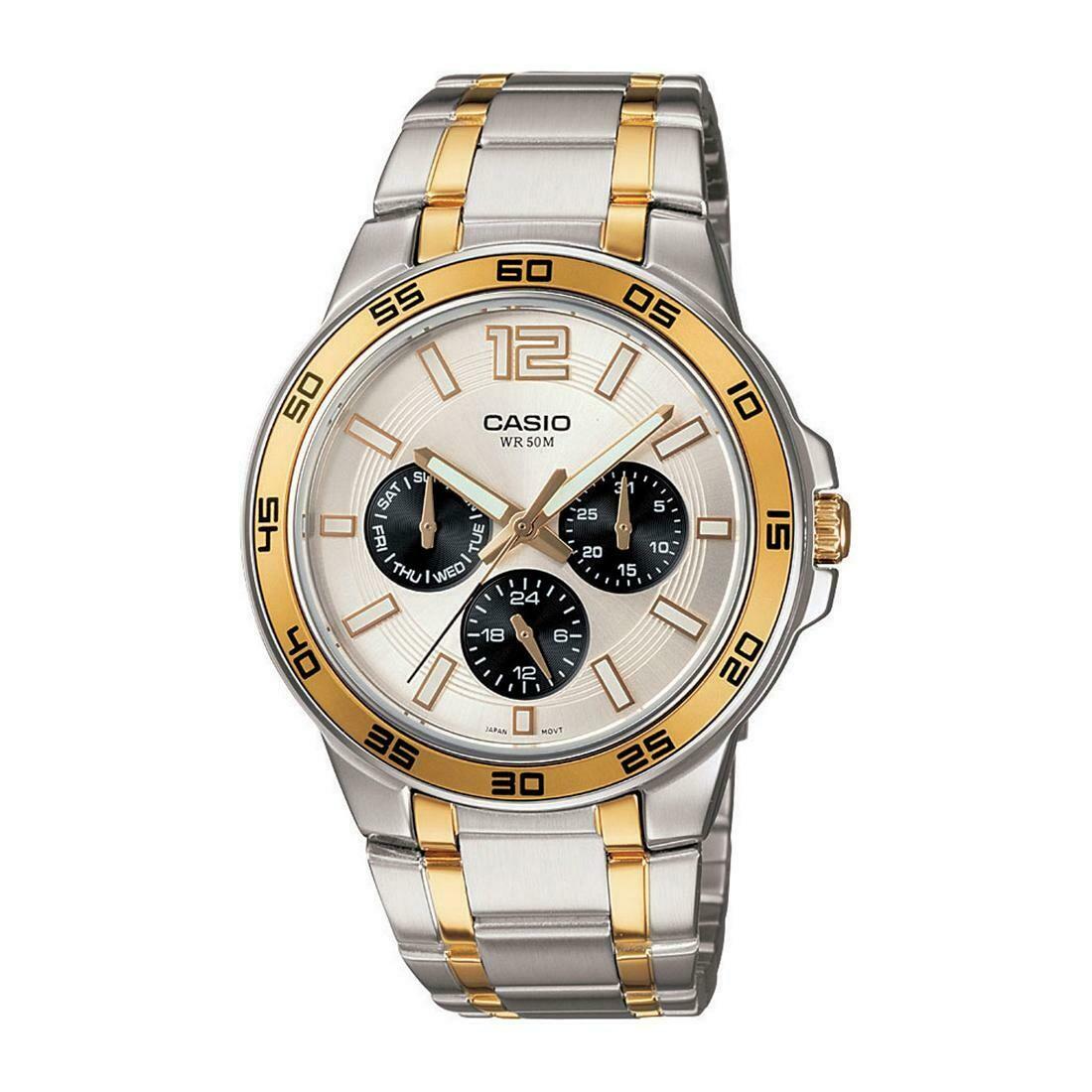 Casio Enticer MTP-1300SG-7AVDF Analog Wrist Watch For Men