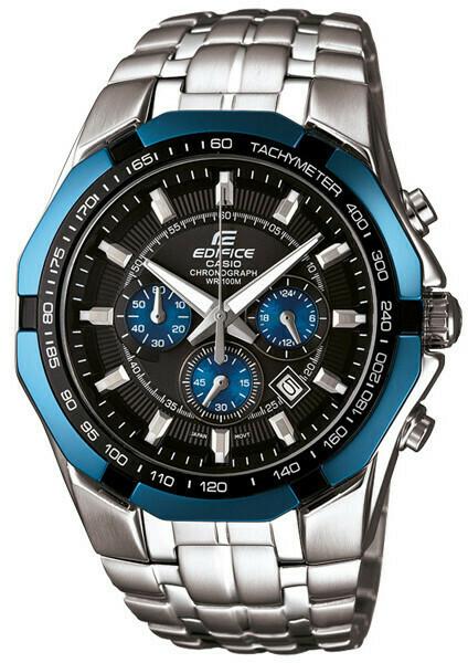 Casio Edifice EF-539D-1A2VDF Analog Wrist Watch For Men - Silver