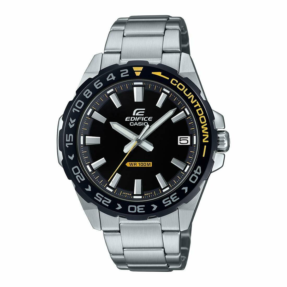 Casio Edifice EFV-120DB-1AVUDF Silver Metal Watch For Men