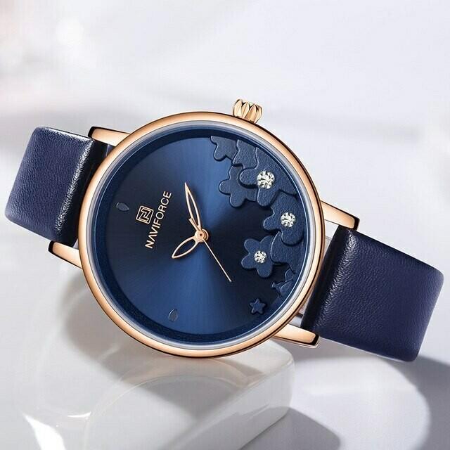 Naviforce NF5012 Women's Watch-Blue