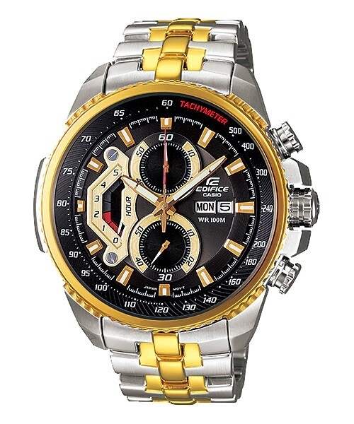 Casio Edifice EF-558SG-1AVDF Analog Wrist Watch For Men - Silver and Gold