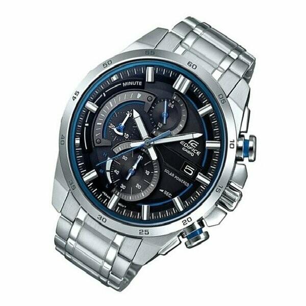 Casio Edifice EQS-600D-1A2UDF Analog Wrist Watch For Men - Silver