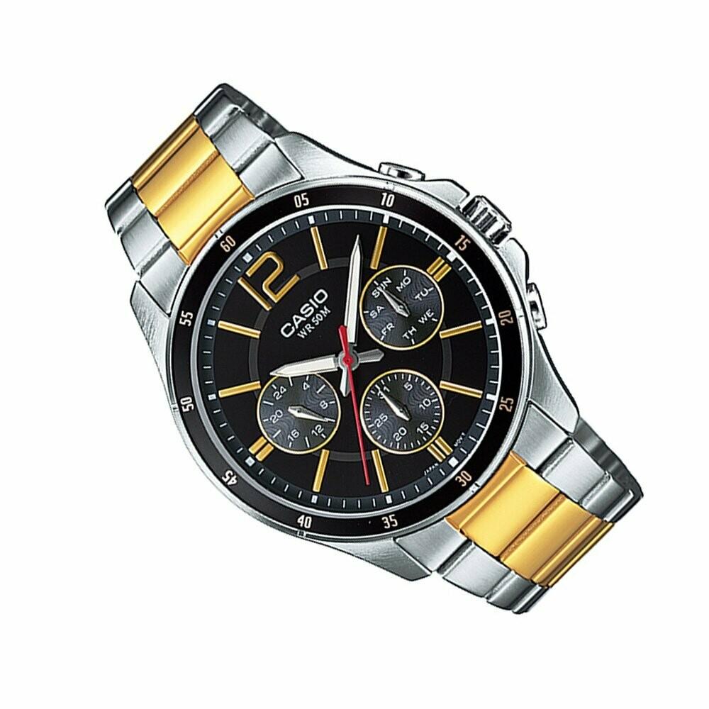 Casio Enticer MTP-1374SG-1AVDF Analog Wrist Watch For Men
