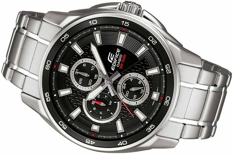 Casio Edifice EF-334D-1AVDF Analog Wrist Watch For Men
