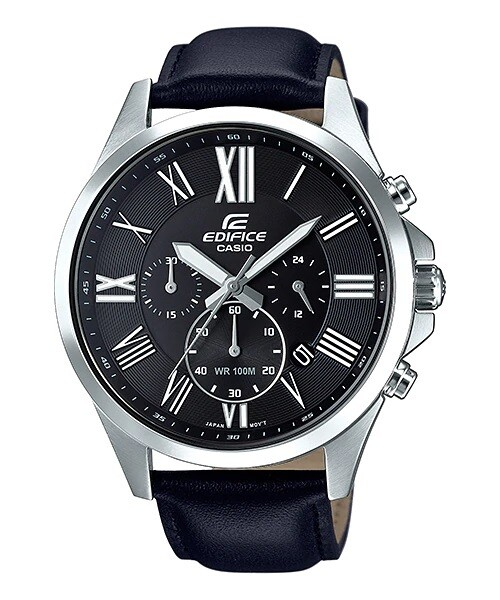 Casio Edifice EFV-500L-1AVUDF Analog Wrist Watch For Men - Black