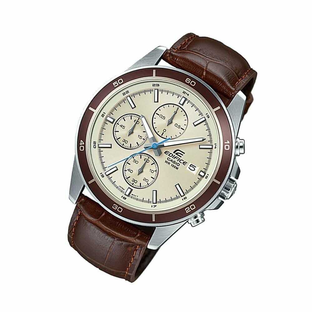 Casio Edifice EFR-526L-7BVUDF Analog Wrist Watch For Men - Brown